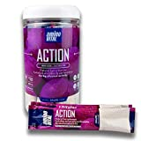 Amino VITAL Action- BCAA Amino Acids Pre Workout Packets with Electrolytes for Energy | No Caffeine,...