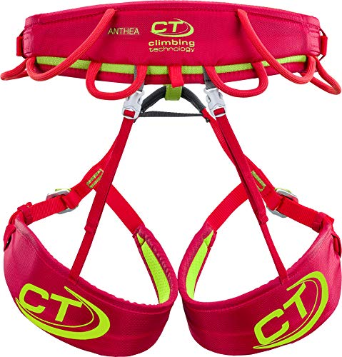 Climbing Technology Anthea - Arnés para Mujer, Mujer, 7H168ABCTSTD, Rojo, XS/S