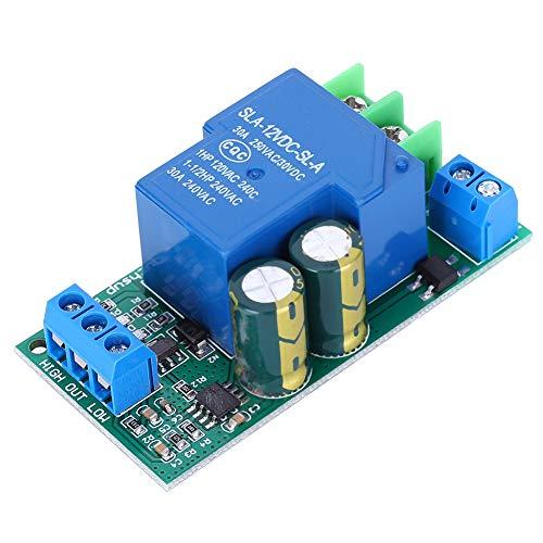 Füllstandsregler-Schaltermodul, LC55B01 AC/DC12V 30A Wasserstandsregler Automatisches Flüssigkeitsregelungs-Schaltermodul Wasserstand für Aquarium-Aquarium
