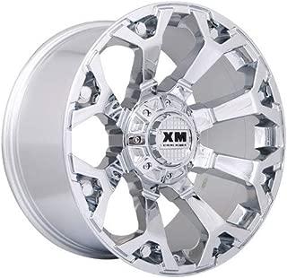 XTREME MUDDER XM-318 A0101 8025 20X12-44 6X135+6X139.7 C.B 106 CHROME