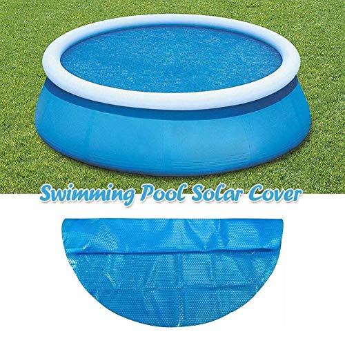 Dequate solarabdeckplane für Pool - solarfolie Pool rund 450 360 300, solarpoolabdeckung rund - solar Cover Pool rund/solarfolie - Sonnenschutz UV-Schutz