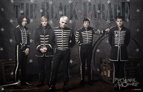 (22x34) My Chemical Romance (The Black Parade) Music Poster Print