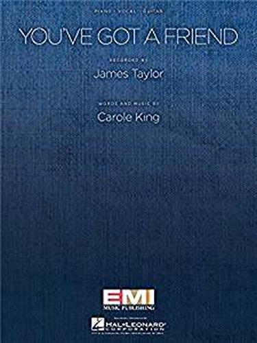 Carole King: You\'ve Got A Friend (PVG). Partitions pour Piano, Chant et Guitare