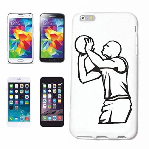 Funda para teléfono móvil compatible con Samsung Galaxy S4 i9500, baloncesto, balonmano, Mega Sports Hobby
