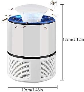 LLXX Lámpara antimosquitos USB Eléctrica Sin Ruido Sin radiación Asesino de Insectos Moscas Lámpara Trampa Lámpara Anti Mosquitos Inicio