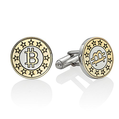 JewellBox Gemelos de oro de la marca Bitcoin