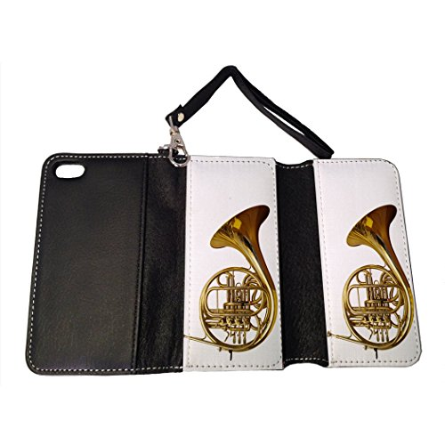 BMC iPhone SE Wallet Handbag Case - Tuba Marching Band