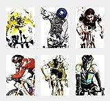 YEAHTOPE Wandkunst-Dekor-Poster mit Sportsternen,