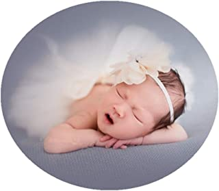 Vemonllas Fashion Newborn Girls Baby Handmade Outfits Photography Props Tutu with Flower Headdress