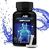 AmmoniaSport Athletic Smelling Salts - Ampules (25) Ammonia Inhalant -...