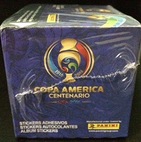 USA 2016 Copa America CENTENARIO Panini complete 50 packs box , Total of 350 stickers