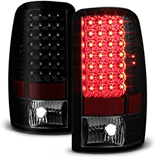 For Black Smoke 00-06 Suburban Tahoe Yukon XL Liftgate Model LED Tail Lights Brake Lamps Replacement