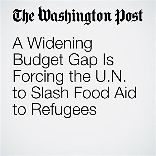 A Widening Budget Gap Is Forcing the U.N. to Slash Food Aid to Refugees copertina