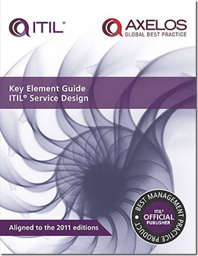 Key element guide ITIL service design (Best Management Practice)
