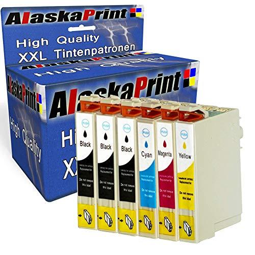 Alaskaprint 6 Kompatibel Druckerpatronen Ersatz für Epson 29 29XL für Expression Home XP-455 XP-342 XP-352 XP-255 XP-452 XP-245 XP-247 XP-355 XP-345 XP-442 XP-235 XP-432 XP-332 XP-335 XP-257 435 445