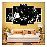 QMCVCDD 5 Leinwand Druck Kunst Poster Pearl Jam 38