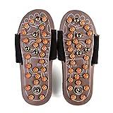 Zapatos de masaje de terapia magnética Reflexología podal Acupresión Zapatillas de masaje para la salud que activan la sangre