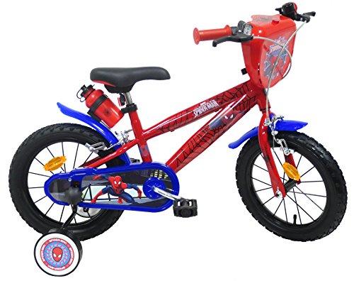 EDEN-BIKES Spider Man - Bicicleta Infantil, Multicolor, 14