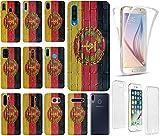 KX-Mobile Hülle für Samsung S20 Handyhülle Motiv 1049 Flagge DDR Ostdeutschland Zone Premium 360 Grad Fullbody SchutzHülle Softcase HandyCover Handyhülle...