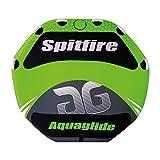"Aquaglide Spitfire Octagon Shape Towable Tube, Green, 80"""