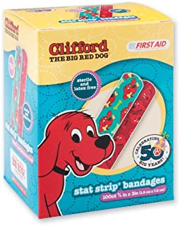First Aid Clifford Bandages - 100 per Pack