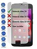 Todotumovil Protector de Pantalla Motorola Moto E4 4G 5.0 de Cristal Templado Vidrio 9H para movil