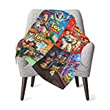 FLYOU Toy Story Baby Blanket Super Soft Throw Blanket Flannel Fleece Blankets for Boys and Girls Kids 30 X 40 Inch