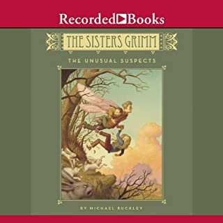 The Sisters Grimm audiobook cover art