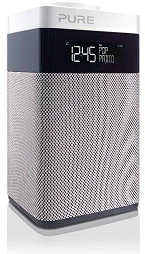 Pure POP Midi BT (DAB DAB+ Digitale e FM-Radiosveglia con Bluetooth) Bianco