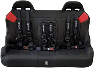 Sponsored Ad - Polaris General 4 1000 Rear Bench Seat (Red Patch) by UTV Mountain Accessories