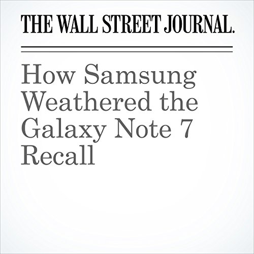 How Samsung Weathered the Galaxy Note 7 Recall copertina