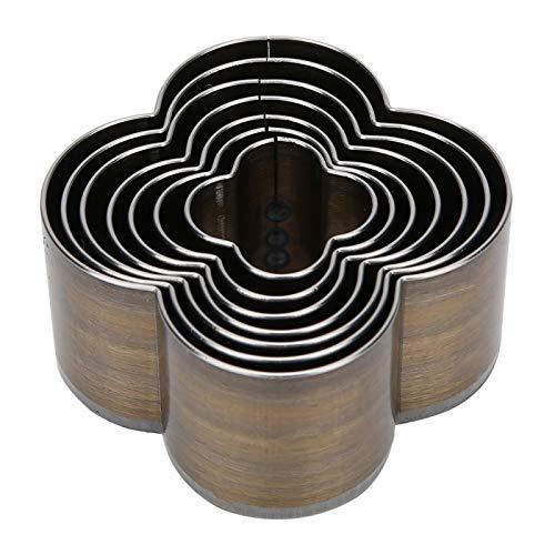 Perforadora de cuero de alta resistencia, 7 piezas, para correas de reloj de cuero, suministro de arte
