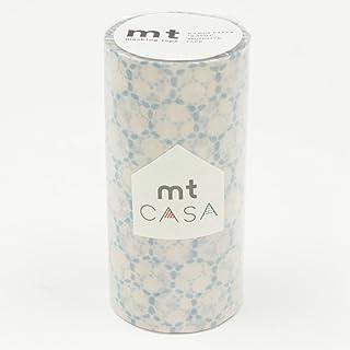 カモ井加工紙 マスキングテープ mt CASA 100mm幅×10m巻き レース・コットン MTCAS015