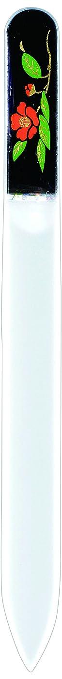 山岳成分崇拝する橋本漆芸 ブラジェク製高級爪ヤスリ 十一月 紅葉 紙箱