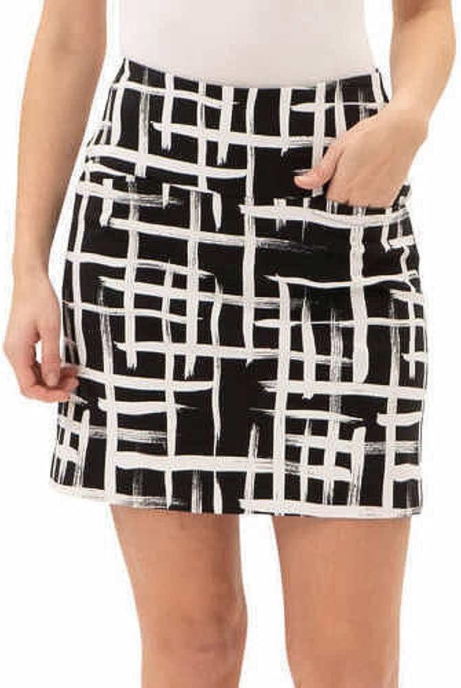 SCCO Women's Branded goods Comfortable Stretch Double Las Vegas Mall Variet Skort Wraparound