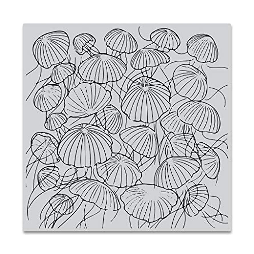 Hero Arts CG772 Bold Prints, Jellyfish Party