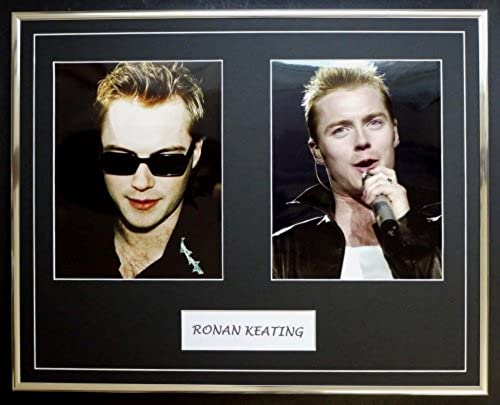 RONAN KEATING DOUBLE PHOTO DISPLAY ENCADRé
