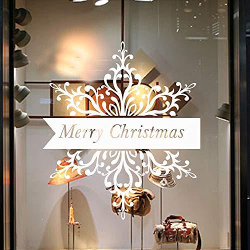 Génération Sculpté Joyeux Noël Décoration De Noël Salon Fenêtre Décoration Autocollant D'autres couleurs peuvent être personnalisées