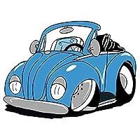 VCHSH 車のステッカーとデカール防水スクラッチ防止創造的なサーフボードのフロントガラスの装飾13cm x 11.3cm 車のスタイリングステッカー (Color Name : Gray, Size : 16CM)