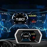 ヘッドアップディスプレイ ACECAR 追加メーター OBD2 GPS 多機能HUD ECUデータ 異常コードクリア・読み取る 故障診断 吸気圧 タービン圧 スピード超過警報など (P17)