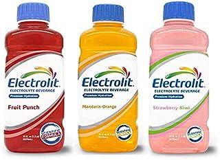 Electrolit Mix Electrolyte Hydration (4 Fruit Punch, 4 Orange, 4 Strawberry-Kiwi)