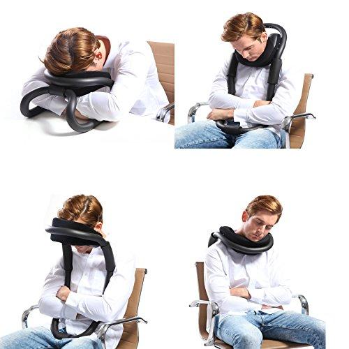 Cuscino Per Dormire Seduti.Zuwit Bendable Neck Support Cuscino Da Viaggio Sonnecchiando