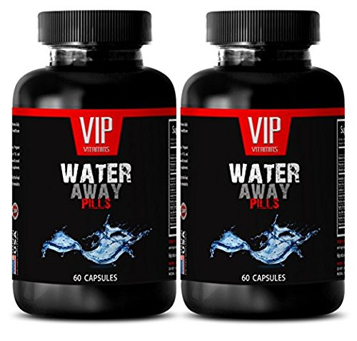 Best antioxidant - Water Away Pills 700MG - Immune System - 2 Bottles (120 Capsules)