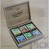 Kleine Pickwick Teebox mit 6 Teesorten