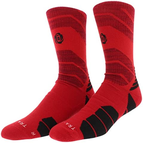 Adidas Mens Adidas Rose New ClimaLite Crew Socks Red L product image