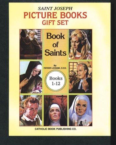 Book of Saints Gift Set (Books 1-12) (St Joseph Picture Book Series)