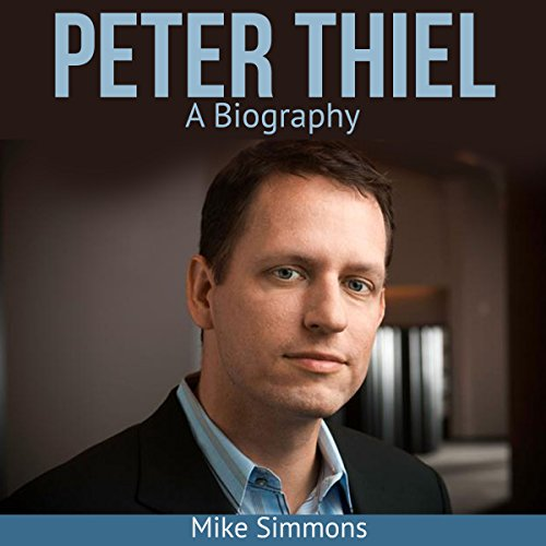 Peter Thiel audiobook cover art