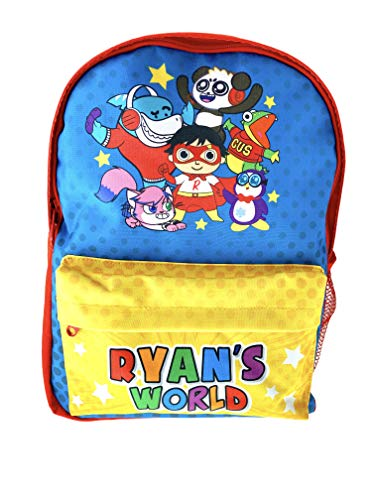 Ryan's World Backpack for Boys | Back to School | Ryans Toy Review | Boys Gifts | Gifts for Girls | Stationary Supplies | Cool Things | Ryans World Toys