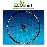 Ecoshirt 9I-5T9M-FGCX Pegatinas Stickers Llanta Rim Mavic Crossmax SL Pro 26' 27,5' Am50 MTB Downhill, Blanco 27.5'