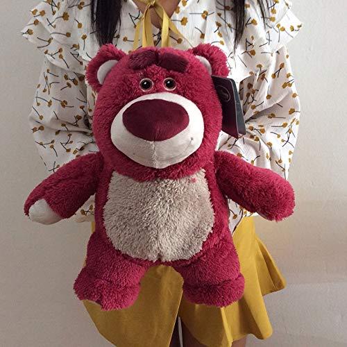 JunziWing 32CM Toy Story Lotso Peluches de Peluche Suave Strawberry Bear Lotso con Fragancia muñecos de Peluche Regalos para niños